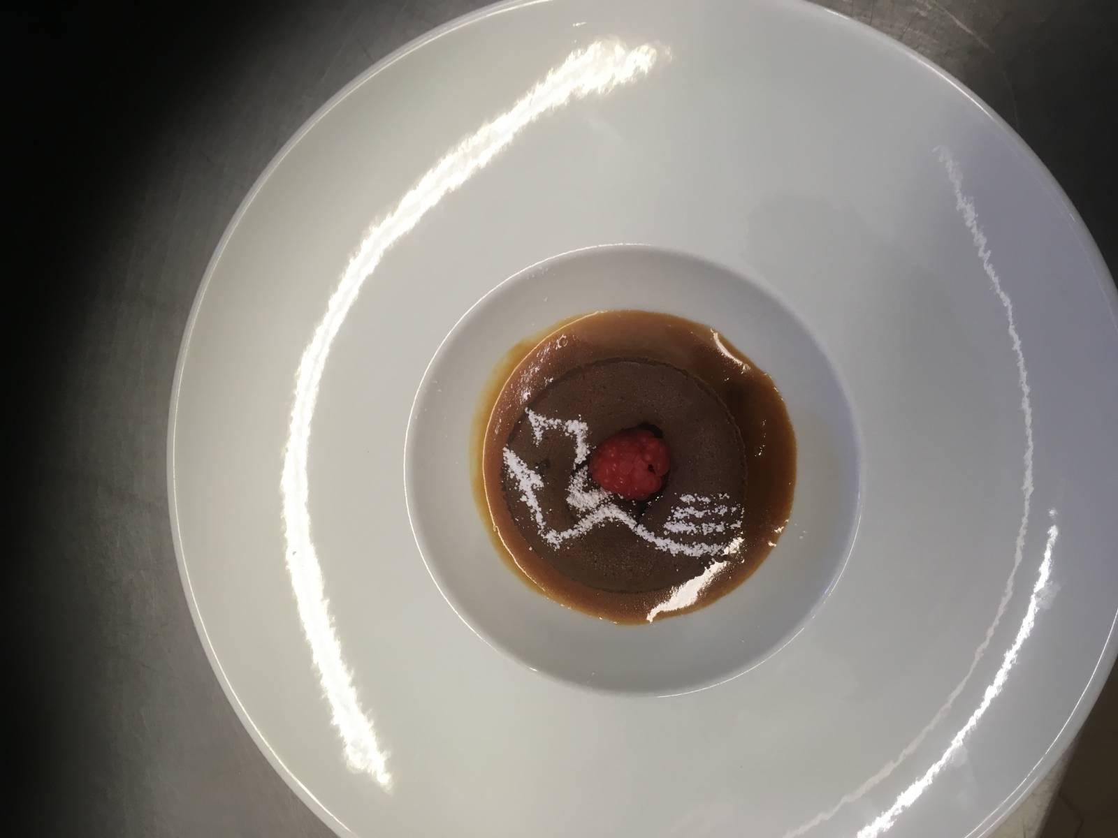 cœur coulant chocolats caramel