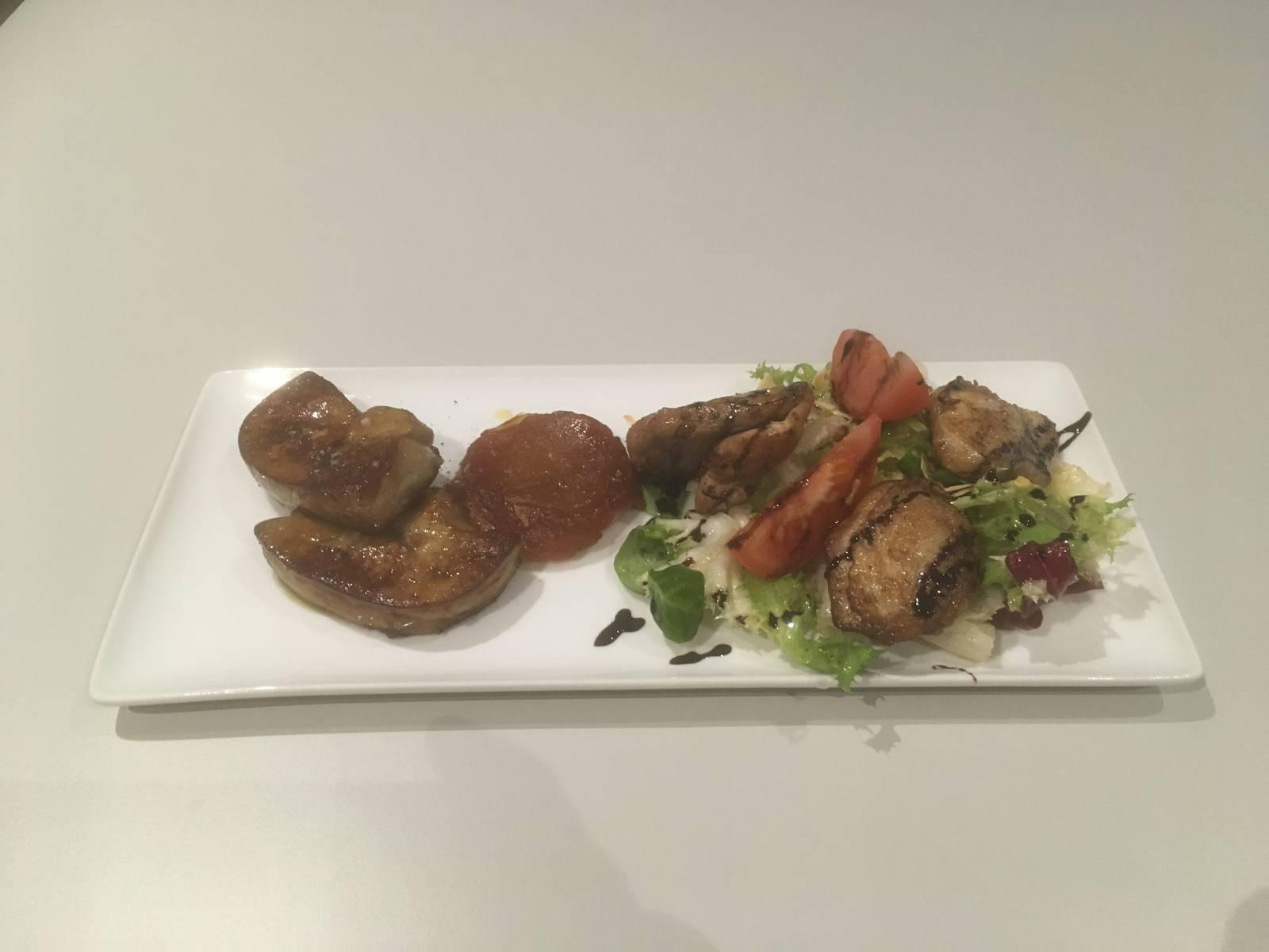 foie gras poêle et tatin